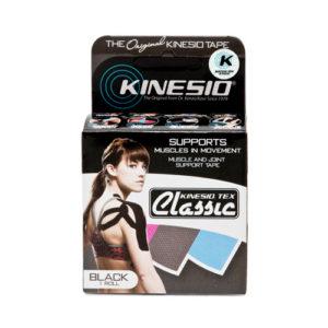 Kinesio Tape Classic Zwart Verpakking - Kinesio Nederland